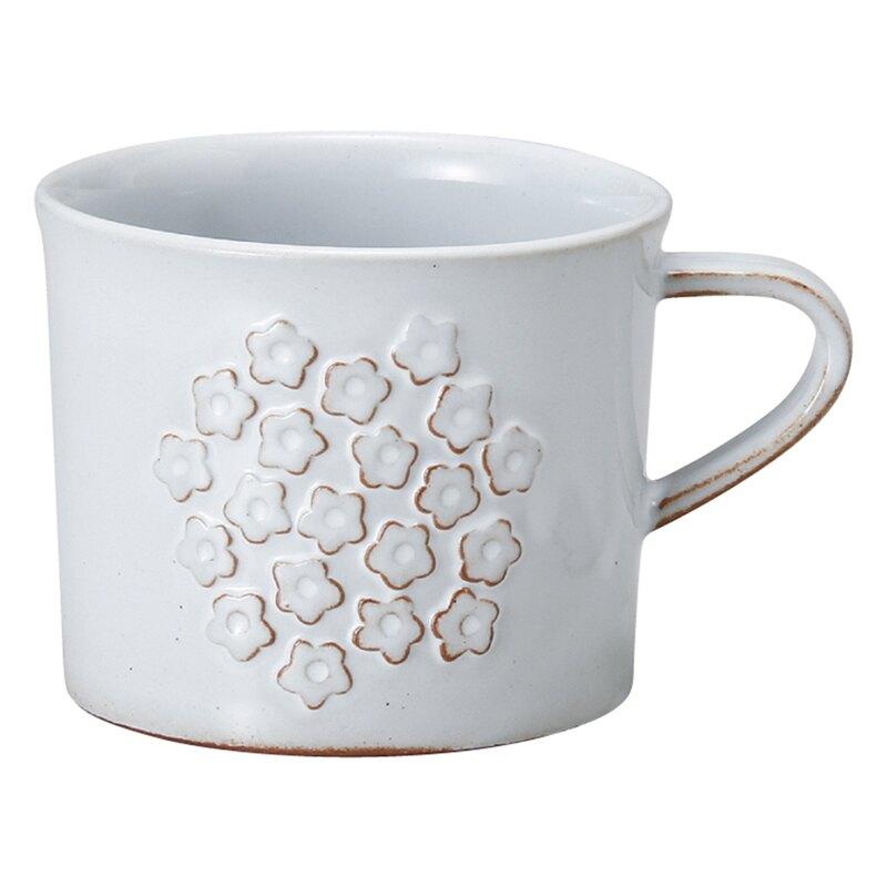 【日本Meister Hand】FLOR 小碎花馬克杯 咖啡杯 水杯 280ml 白色