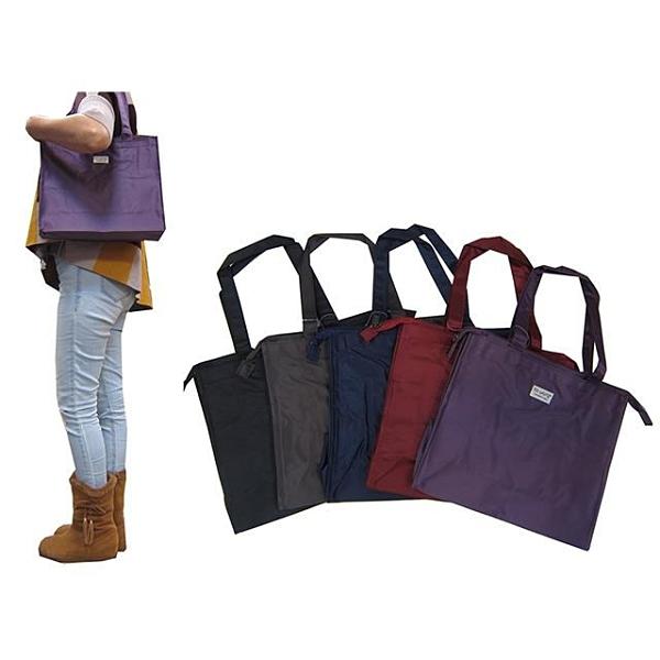 【南紡購物中心】提袋MIT製造品質保證橫式型才藝袋上學書包外置教具品雨衣傘便當袋防水尼龍布