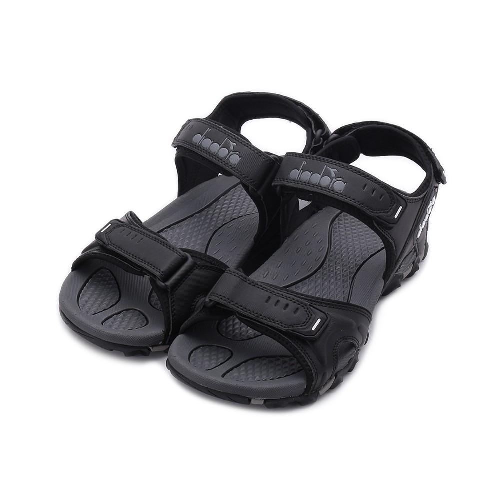 EVERLAST 織帶休閒涼鞋 黑 4022230420 女鞋