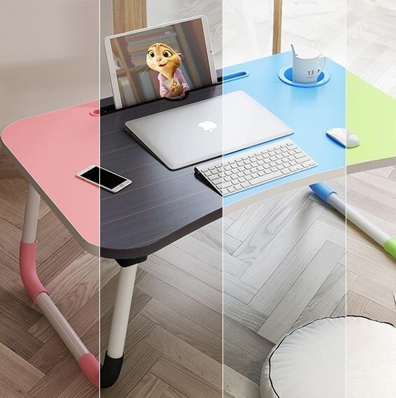 多功能電腦桌 床上小桌子筆記本電腦桌書桌懶人做桌可多功能桌宿舍 萬聖節狂歡 DF