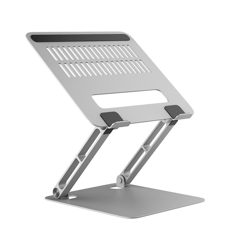 筆記本支架鋁合金蘋果手提電腦macbook配件桌面托架懸空增高臺便攜可調節升降式支撐架底座游戲本散熱器架子