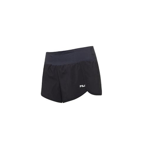 FILA 吸濕排汗運動短褲-黑 5SHV-1325-BK