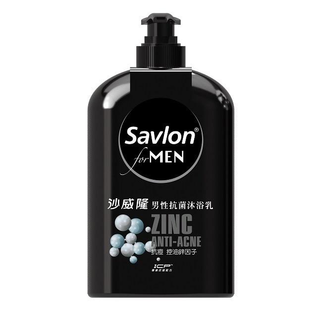 沙威隆男性抗菌沐浴乳670ML-抗痘控油鋅因子