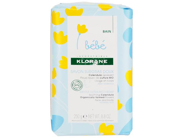 法國蔻蘿蘭 KLORANE~寶寶金盞花柔潤乳霜皂250g【D068642】