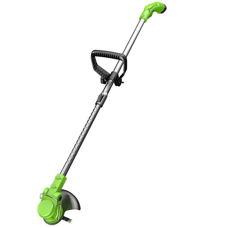 電動割草機農用家用除草機鋰電便攜園林修剪工具草坪機打草機