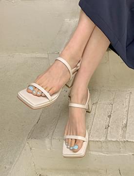 韓國空運 - Vogue Platform Middle Hill Sandals 涼鞋