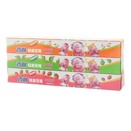 百齡 兒童牙膏組(50gx3支/組) [大買家]