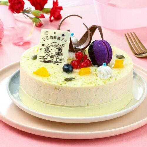 檸檬香草蛋糕6吋/個【愛買冷凍】