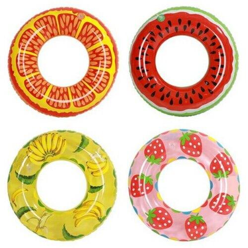 水果造型泳圈-隨機出貨(直徑70cm) [大買家]