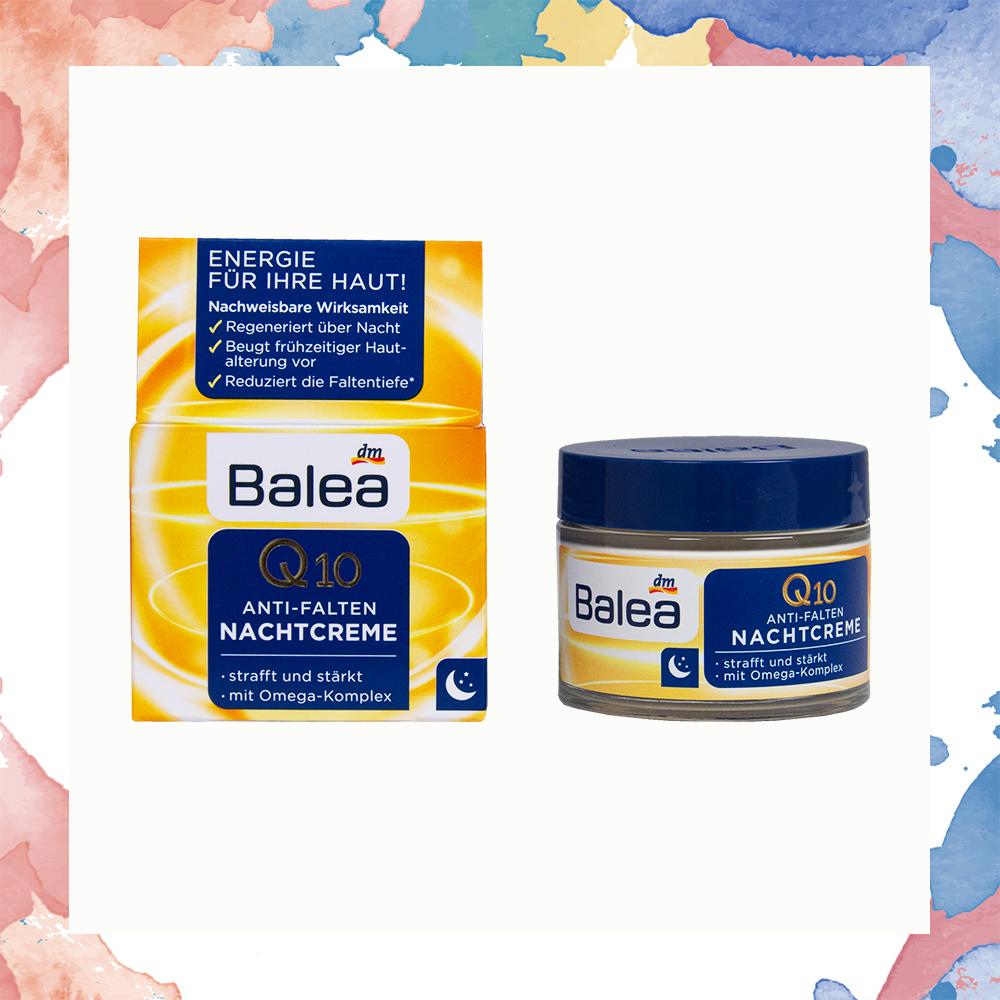 Balea Q10 抗皺提亮夜霜 (熬夜霜) 50ml-德國原裝進口