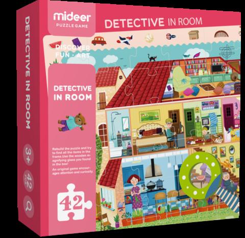 希臘MiDeer 兒童探索拼圖(房屋)