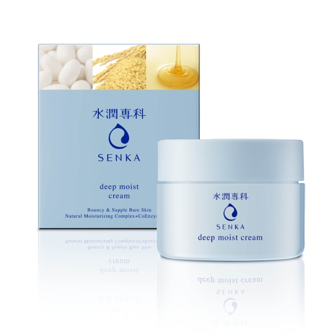 SENKA 水潤專科 保濕輕乳霜50g