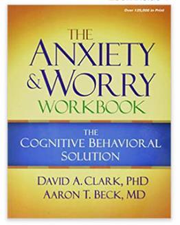 [2美國直購] Amazon 2021 暢銷排行榜《The Anxiety and Worry Workbook: The Cognitive Behavioral Solution》(English