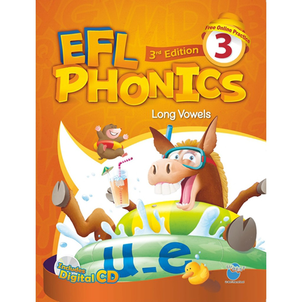 New EFL Phonics 3/e 3 (SB 含 WB, CD, CD Digital CD)