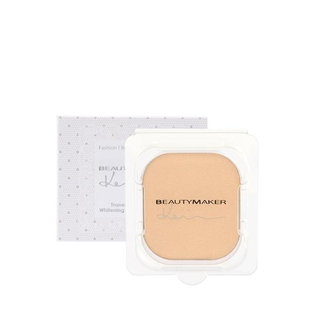 BEAUTYMAKER 傳明酸美白防曬柔膚粉餅SPF50+**自然(替換芯)-9g