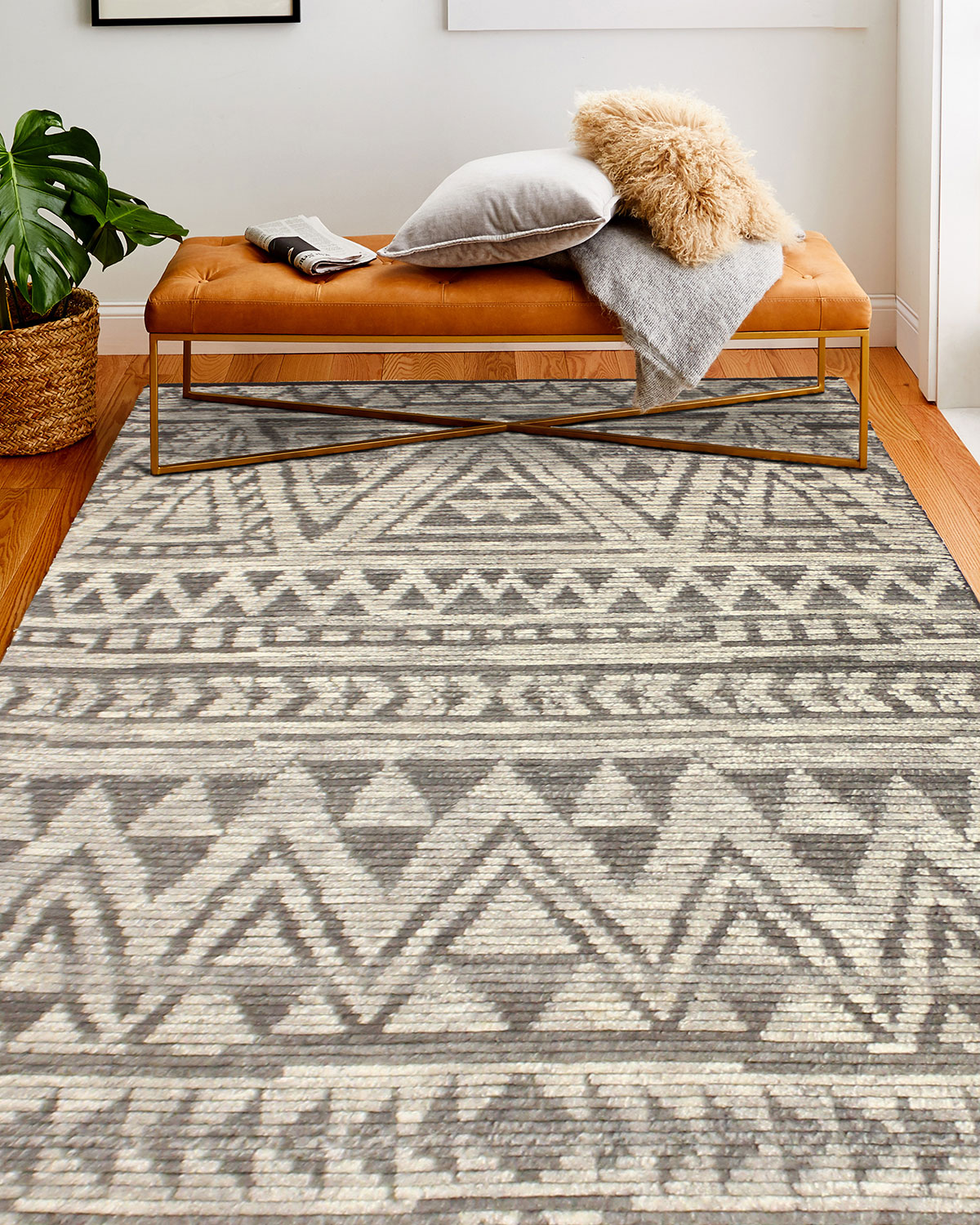Questa Hand-Knotted Rug, 6' x 9'