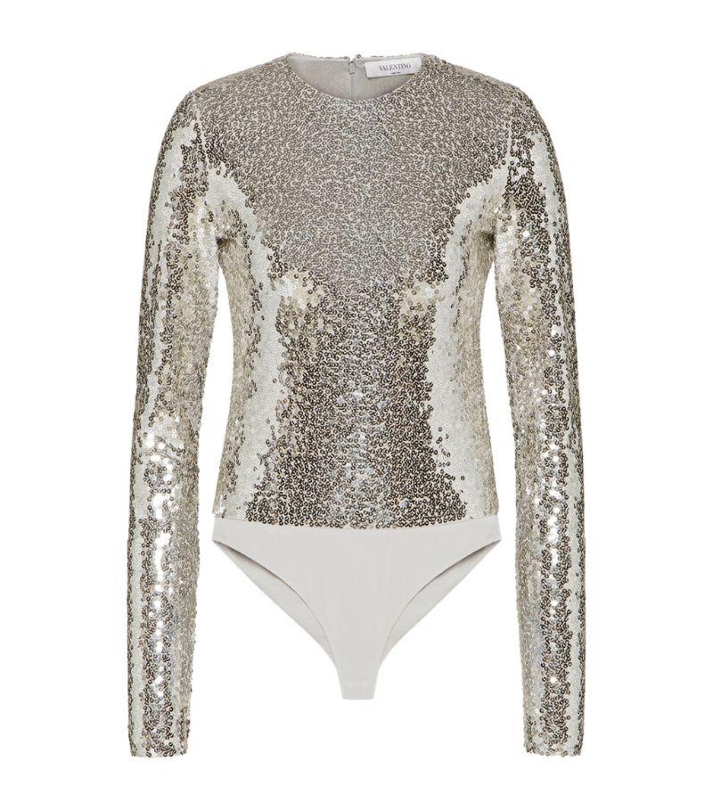 Valentino Sequinned Bodysuit
