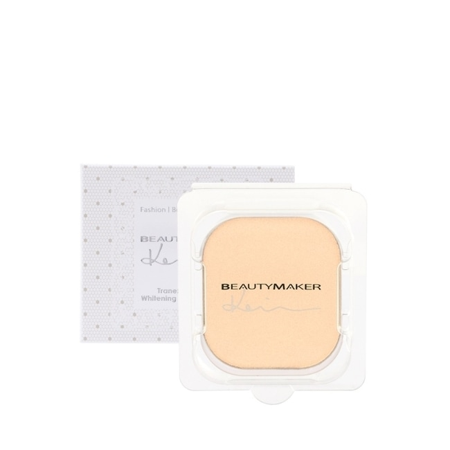 BEAUTYMAKER 傳明酸美白防曬柔膚粉餅SPF50+**白皙(替換芯)-9g