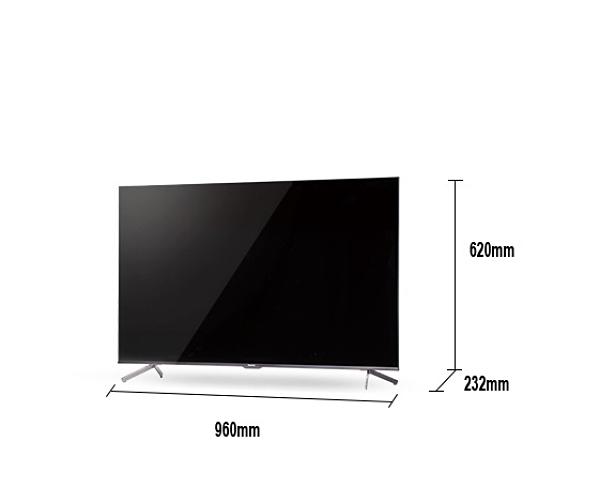 《《Panasonic 國際牌》Android TV 43吋 4K液晶電視 TH-43JX650W (含視訊盒)(安裝另計)
