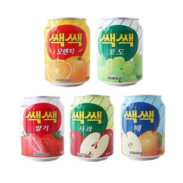 韓國 LOTTE 樂天 果汁 粒粒果汁 238ml