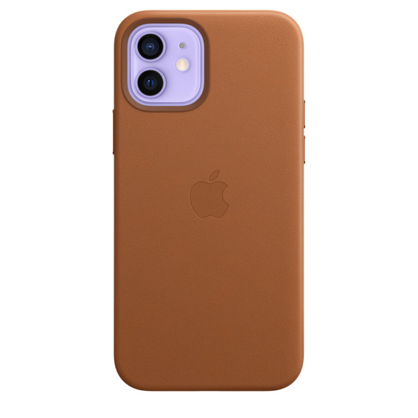 iPhone 12 | Pro MagSafe 皮革保護殼 - 馬鞍棕色