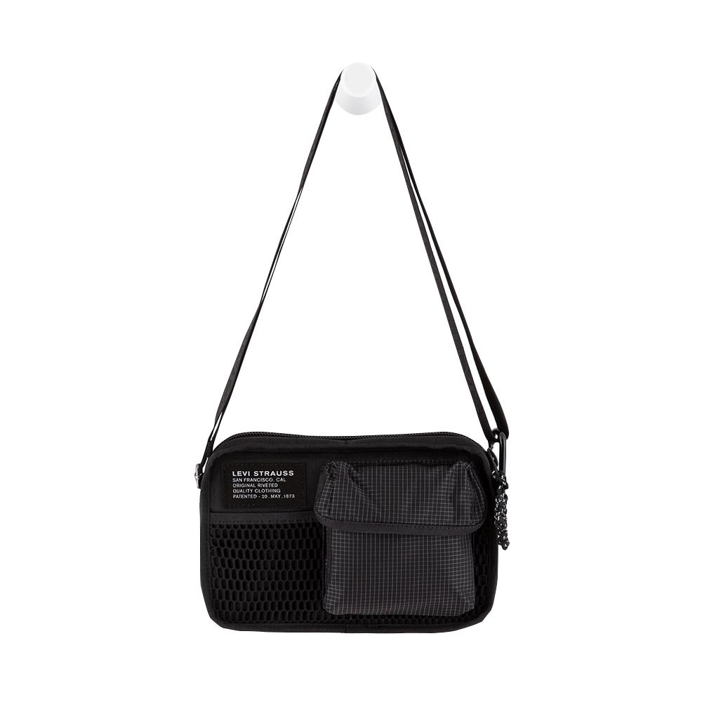 Levis 男女同款 機能斜肩包 / 摩登格紋 / 隨身小包-熱銷單品