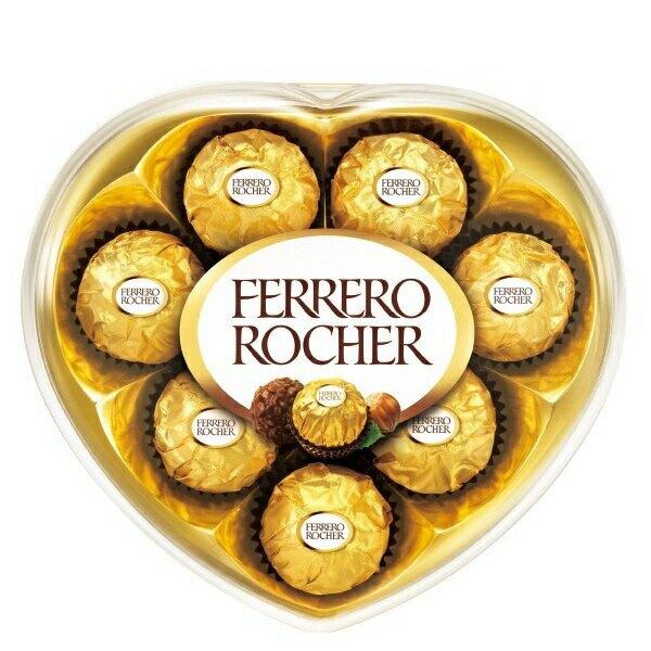 費列羅 金莎巧克力心型盒裝(8粒/盒) [大買家]