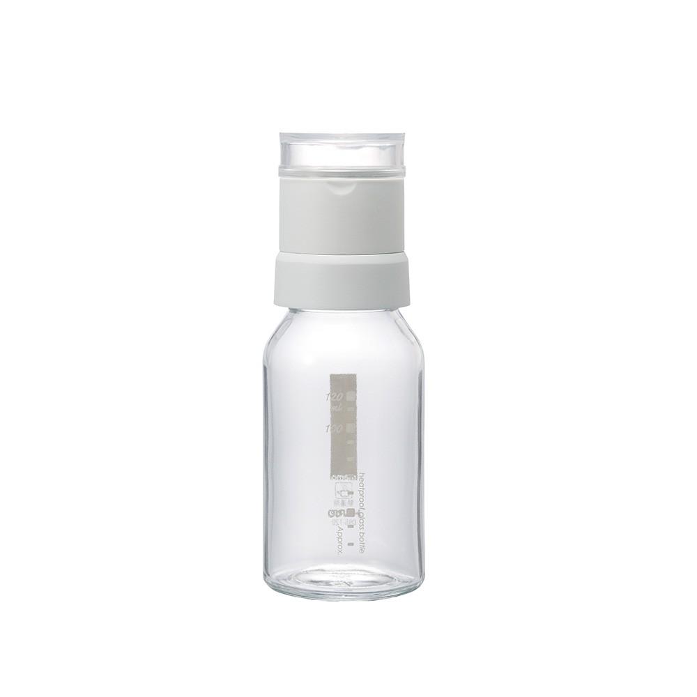 【日本HARIO】 白色芝麻研磨罐120ml《泡泡生活》料理用具 玻璃 調味罐