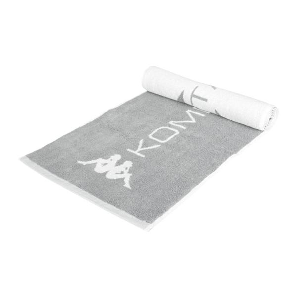 KAPPA 毛巾(運動 海邊 游泳 戲水 慢跑 純棉 台灣製≡體院≡ 351727W-04Y