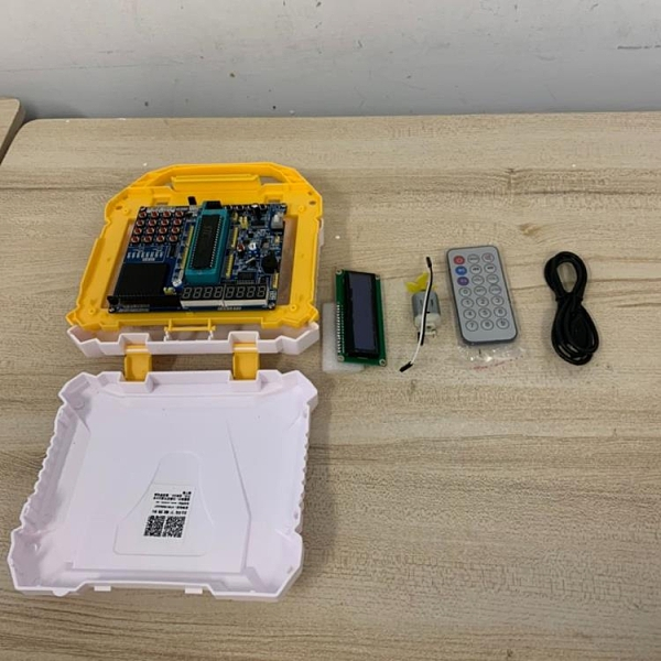 51單片機開發板51單片機學習板實驗板stc89c52套件(777-11120)
