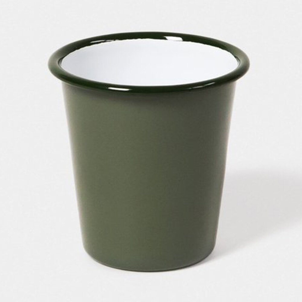 【英國Falcon獵鷹琺瑯】水杯 茶杯 310ml 灰綠