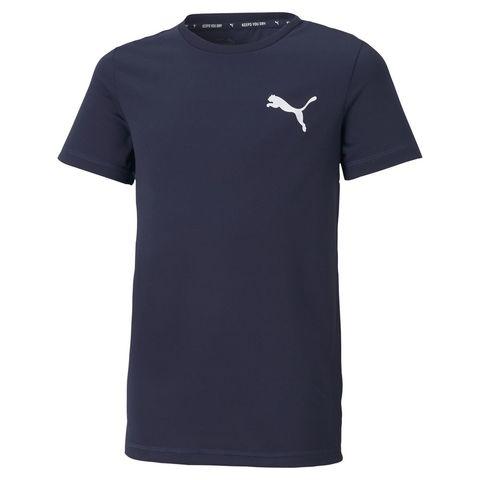 PUMA 男童 Active短袖T恤/上衣(藍)