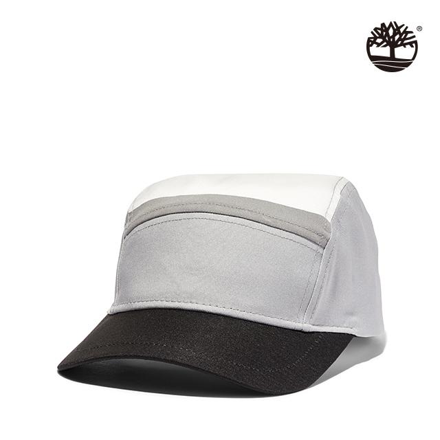 Timberland 中性合金灰色塊拼接帽|A1MKY031