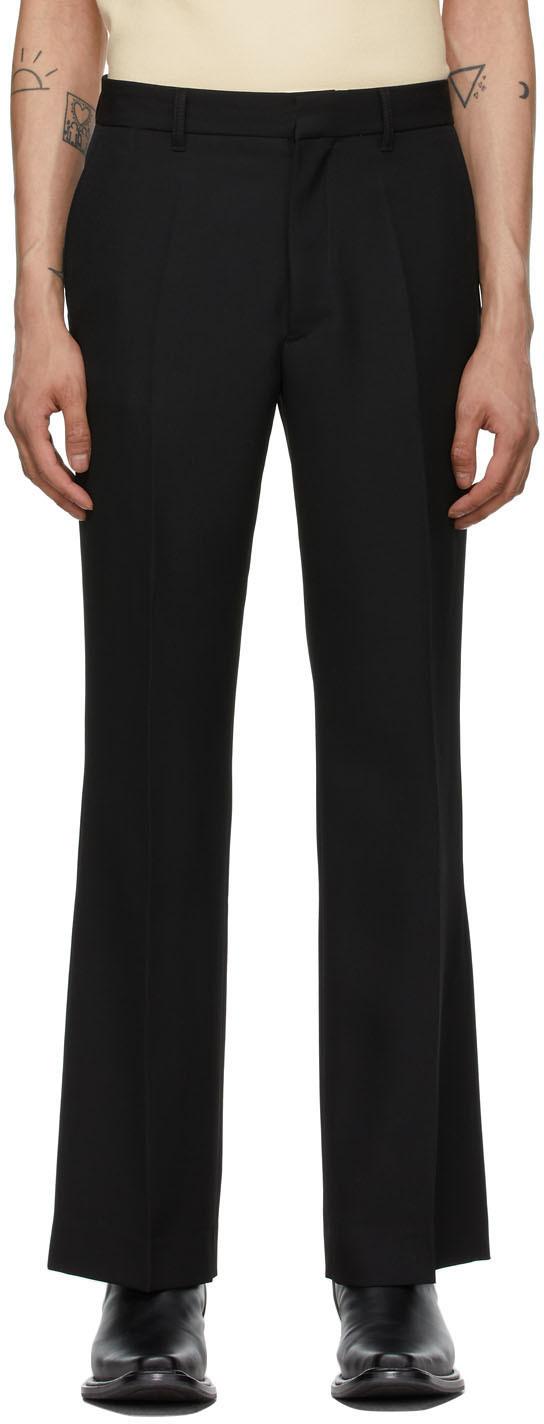 Second/Layer 黑色 Paso 初剪羊毛喇叭裤
