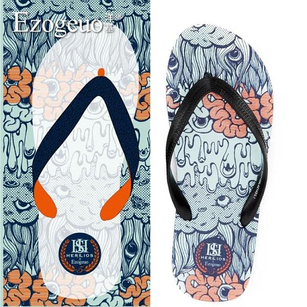 男士夾腳拖鞋室外休閑情侶沙灘潮流2021新款防滑戶外夏季夾腳鞋男 幸福第一站