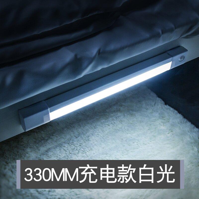 小夜燈 智能人體感應小夜燈led過道家用充電式自動聲控光控樓道走廊壁燈 bw1712