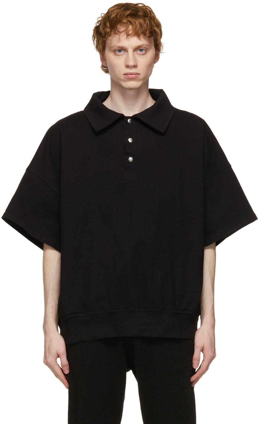 Rhude 黑色 Ivy Rhacher Polo 衫