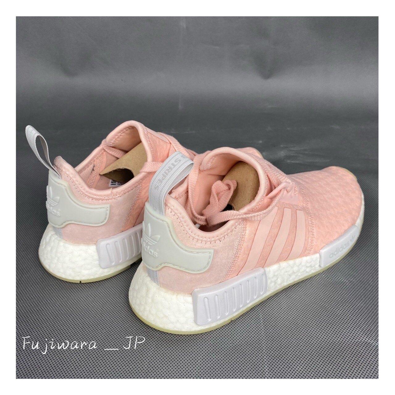 Adidas  Originals NMD R1 玫瑰粉 女鞋 AQ1161  『Fujiwara_JP』