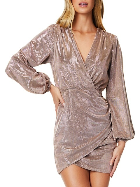 Bonny Faux-Wrap Dress