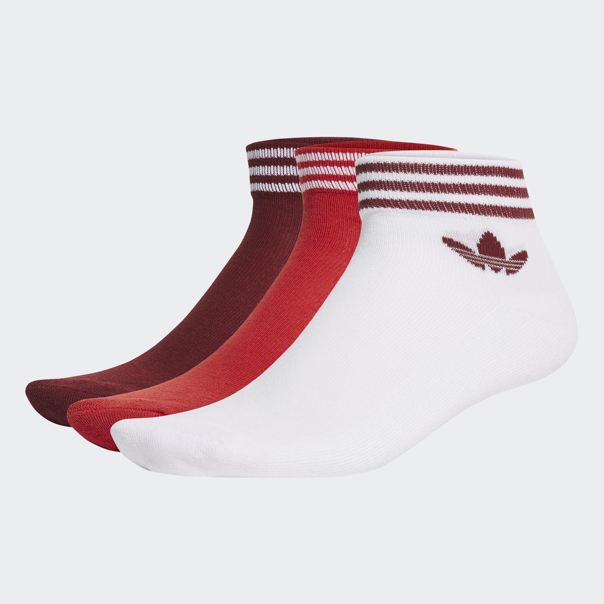 Adicolor 腳踝襪 3 雙入