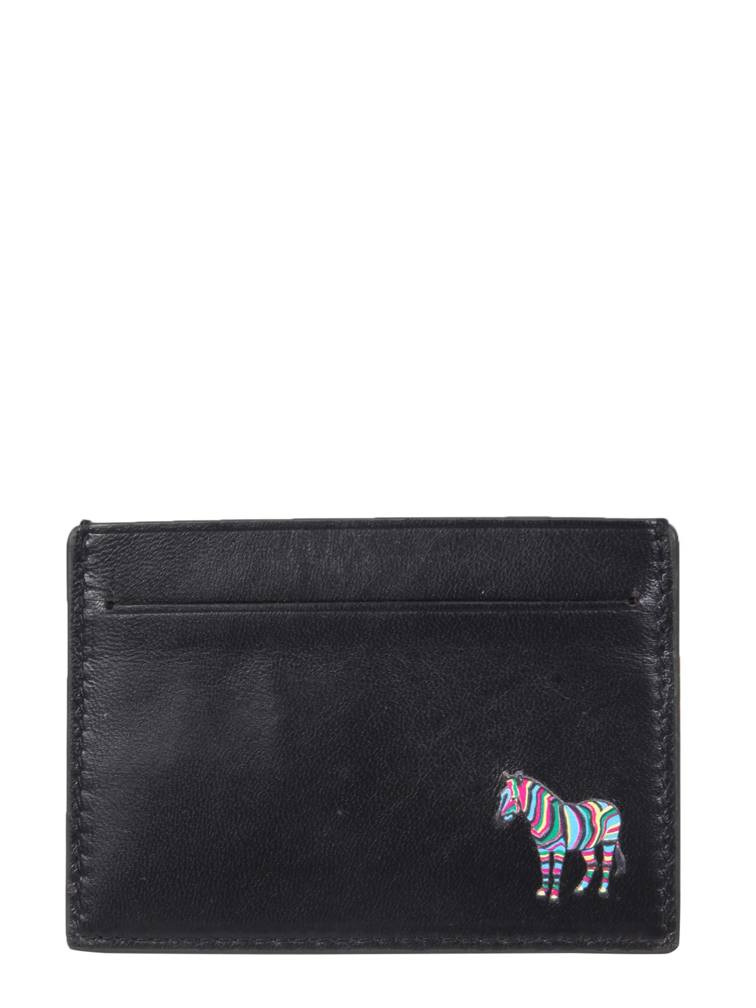 PS by Paul Smith Card Holder With Zebra Application