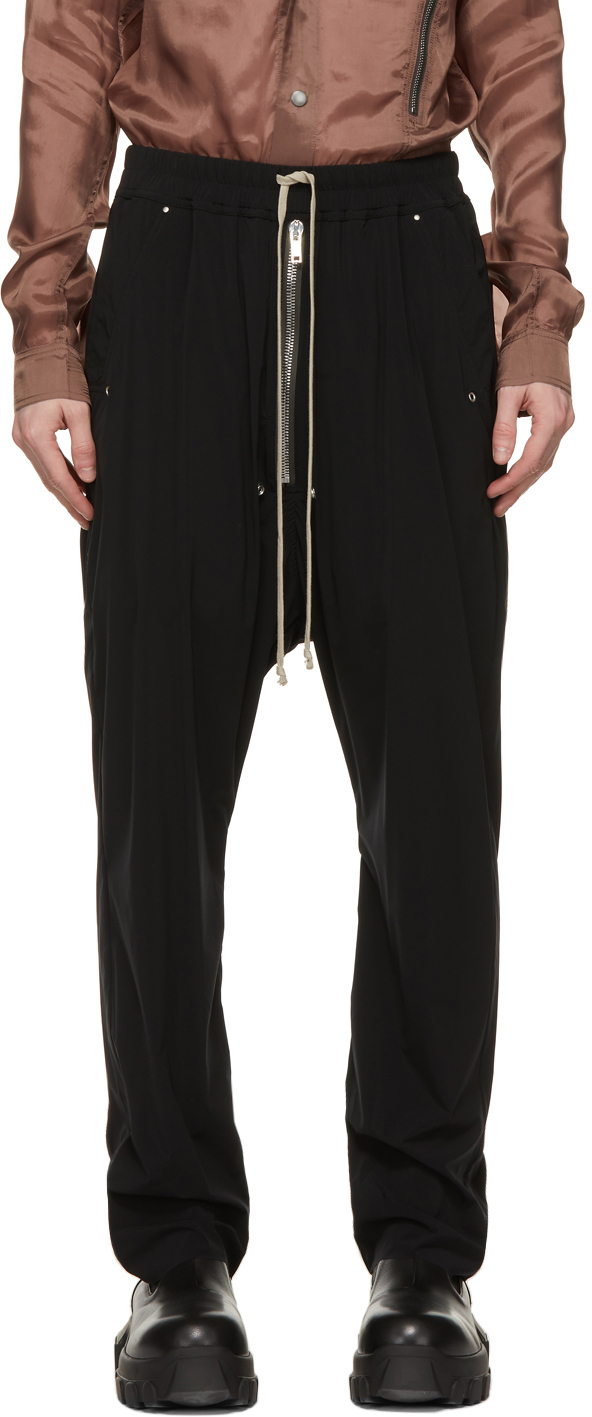 Rick Owens 黑色 Bela 长裤