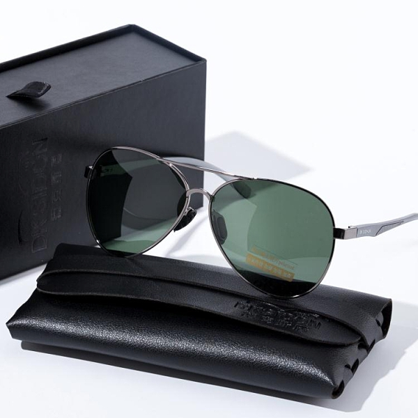 日夜兩用變色男士偏光太陽鏡墨鏡釣魚防紫外線藍光開車專用眼鏡男 快速出貨