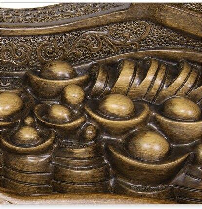 開光葫蘆擺件風水鎮宅招財裝飾品送新中式客廳辦公桌喬遷開業禮品  DLG3 艾琴海小屋