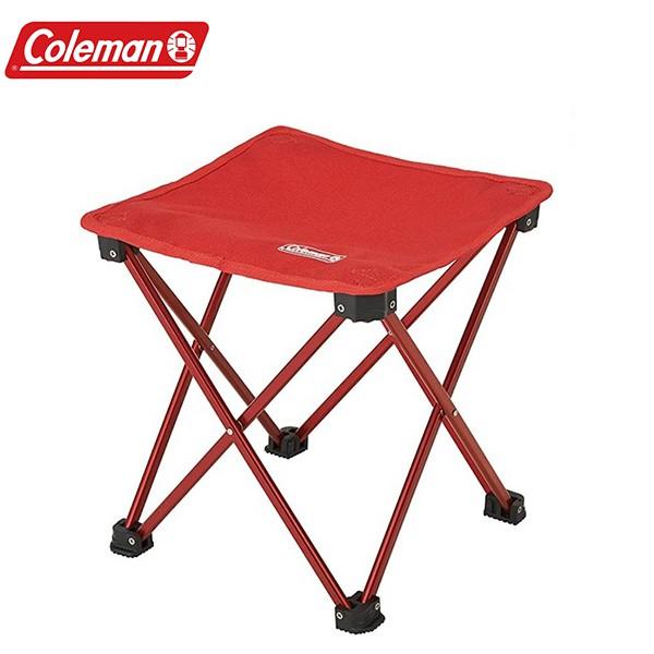 Coleman CM-23169 輕便摺疊凳 紅《台南悠活運動家》