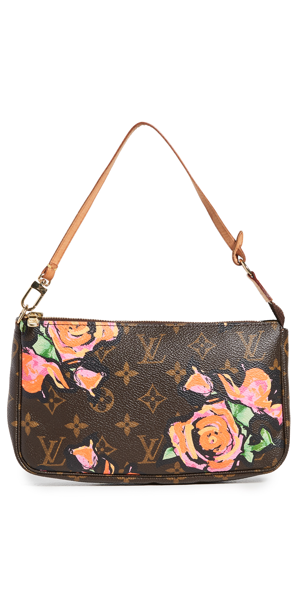 What Goes Around Comes Around Louis Vuitton Roses Pochette