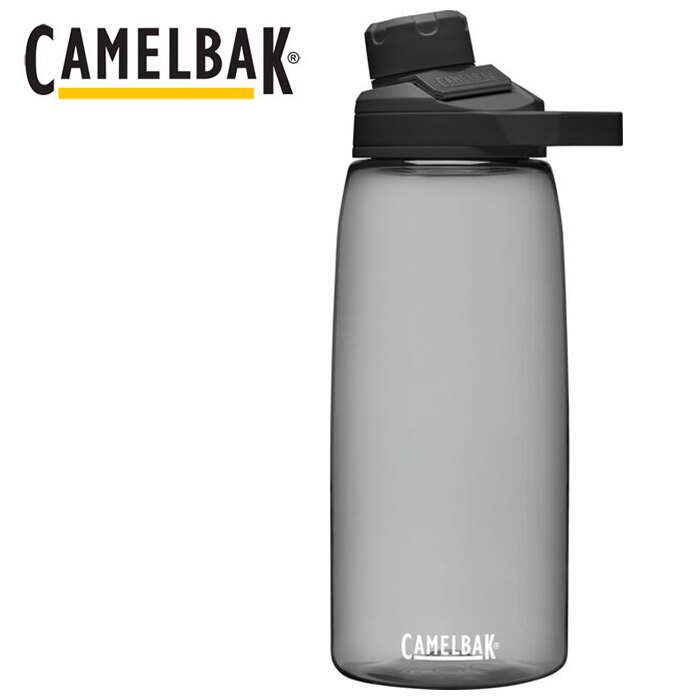 【Camelbak 美國】Chute Mag Renew 戶外運動水瓶 1000ml 炭黑色 (CB2469001001)