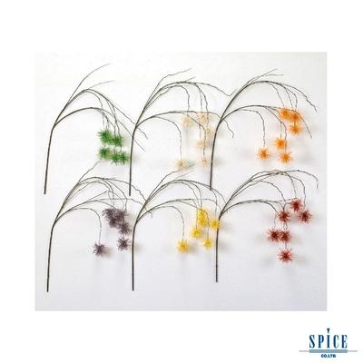 SPICE 日本雜貨 人造垂頭翠菊 多色 裝飾 擺飾 假花 植物 插花 網美道具 裝飾品 仿真花