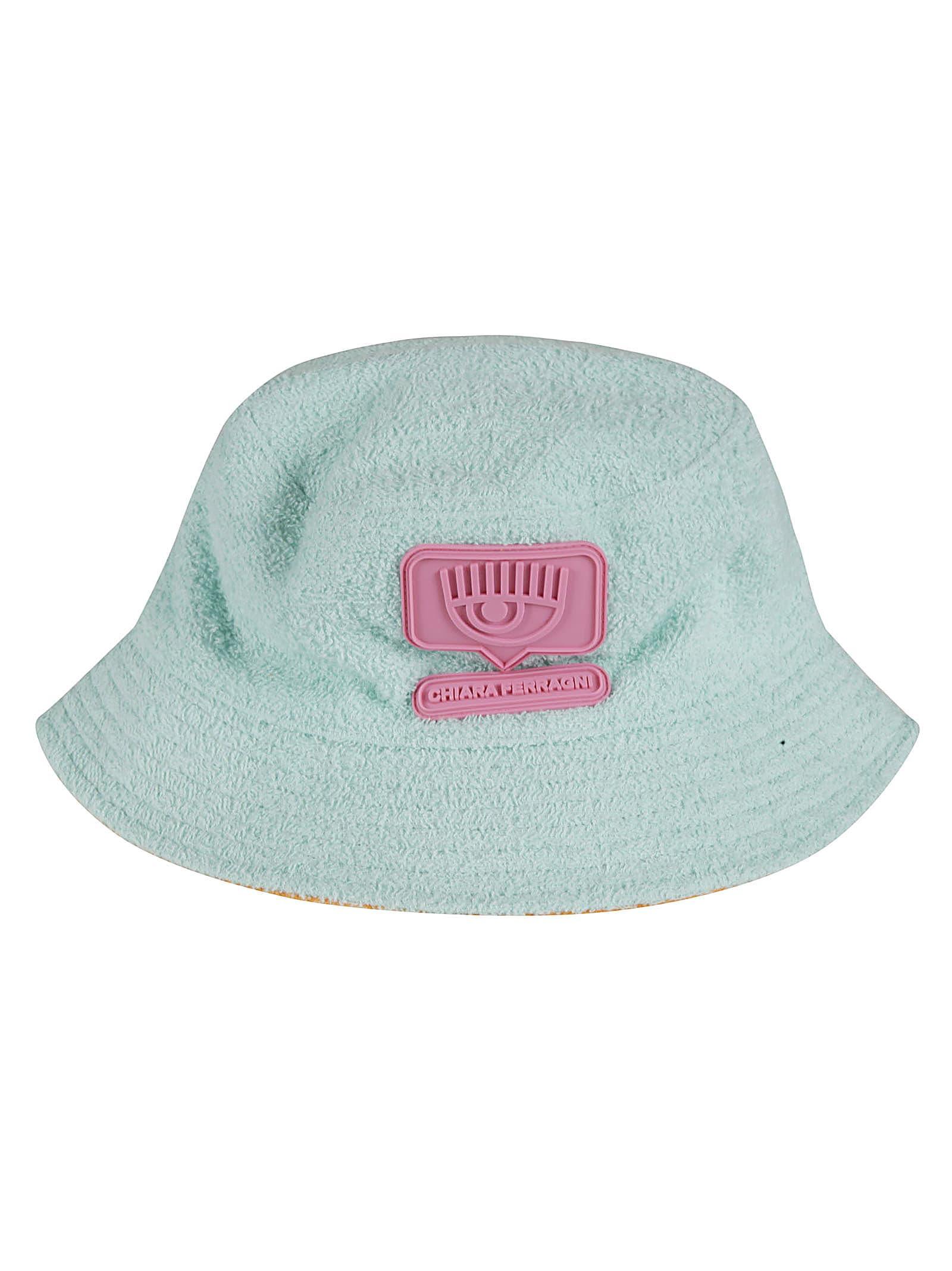 Chiara Ferragni Reversible Sponge Eyelike Hat