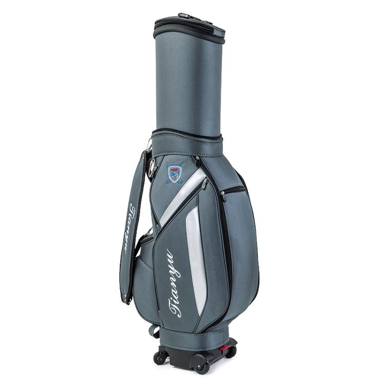 高爾夫伸縮球包 男女多功能托運航空球桿包袋萬向輪剎車